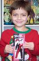Fletcher holding Harley Quinn