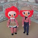 Raggedy Ann and Andy - Tong style body