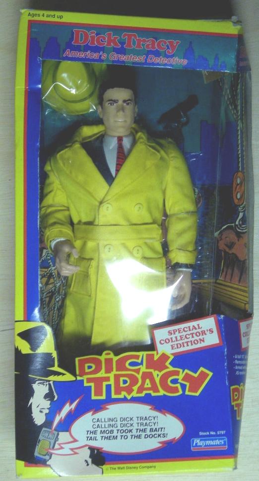 Playmates 15 inch Dick Tracy MIB
