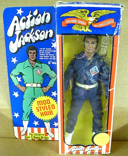 Boxed African American Action Jackson