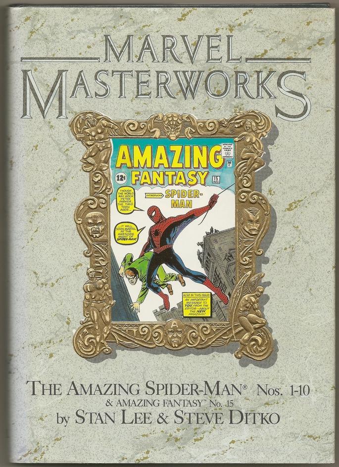 amazing fantasy masterworks front