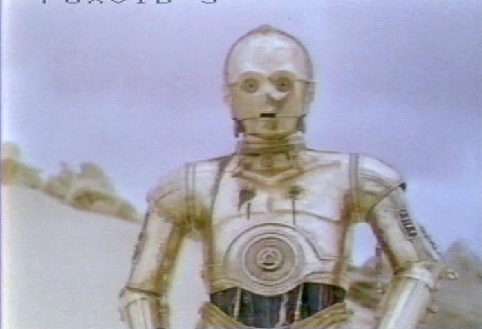 Star Wars Video Rental Library VHS