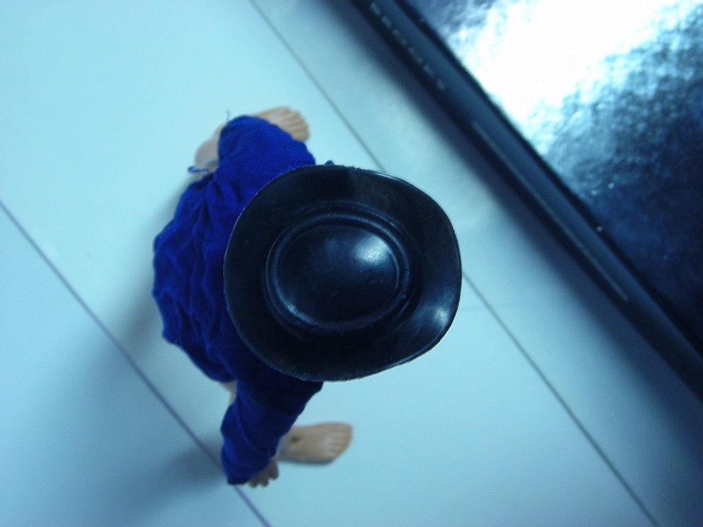 clark kent og hat closeup top
