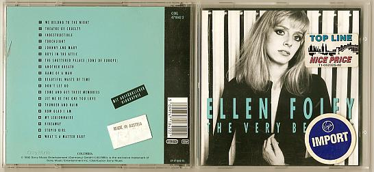 Ellen Foley CD