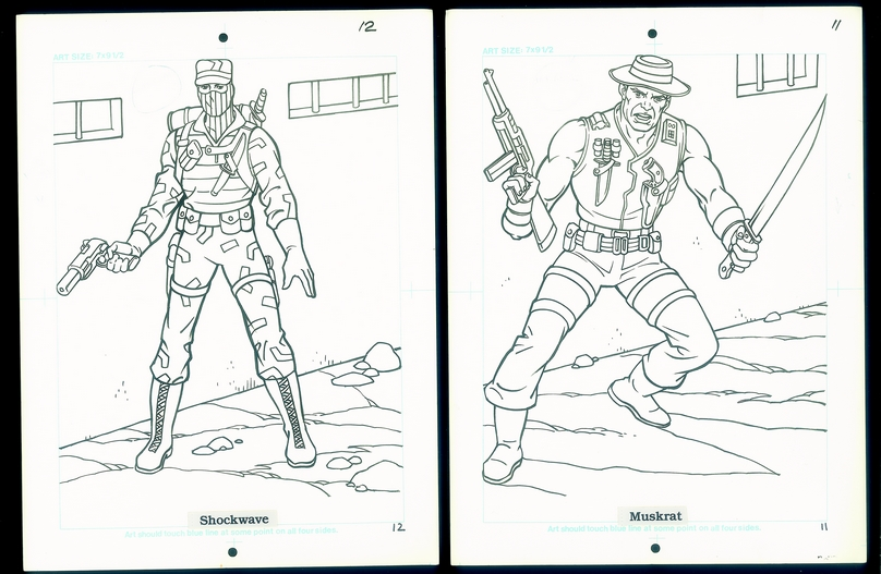 gi joe coloring book pg 11 and 12 rs - The Mego Museum User Gallery