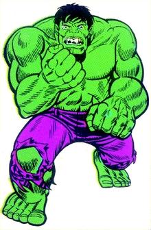 Hulk Mego Trimpe Art