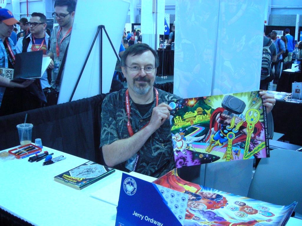 Jerry Ordway NYCC 2014