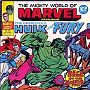 Mighty World Of Marvel Comic