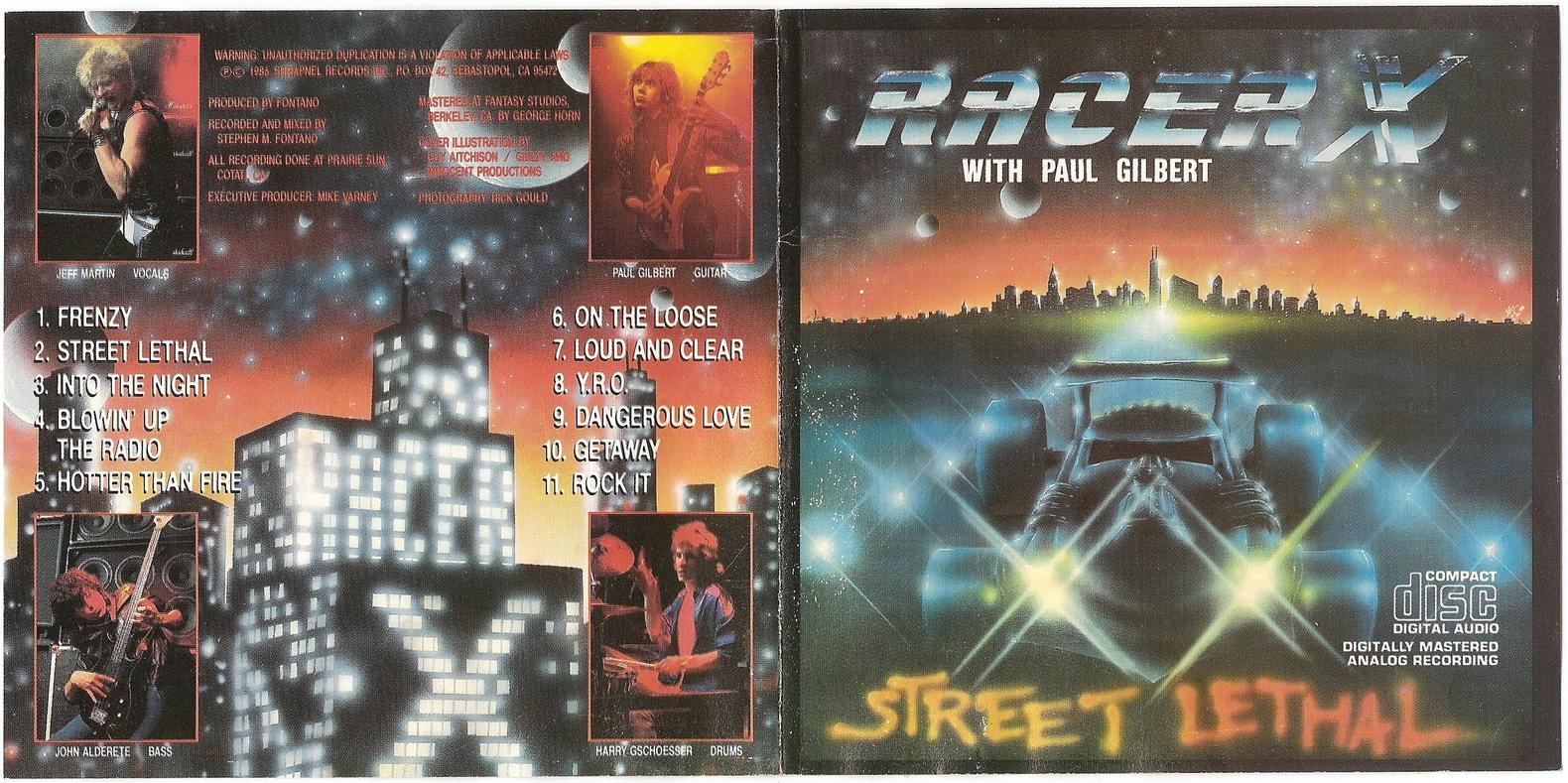 Racer X Street Legal