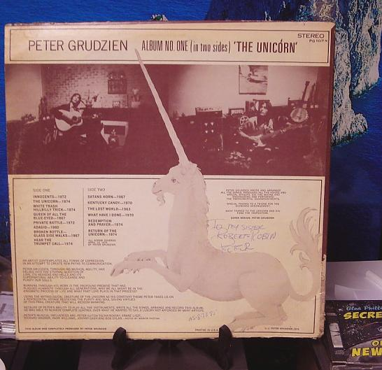 peter grudzien the unicorn LP