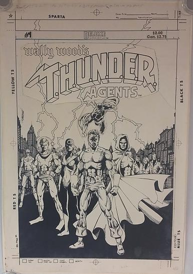Wally Wood's Thunder Agents Mechanical Cover