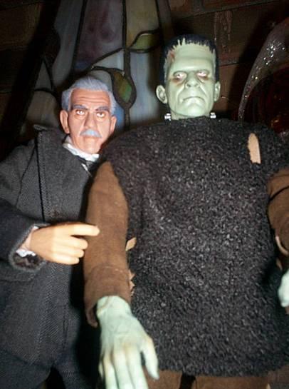 Karloff and friend