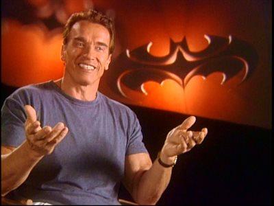 Arnold smiling