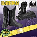 Batman's boots, gloves, and belt
