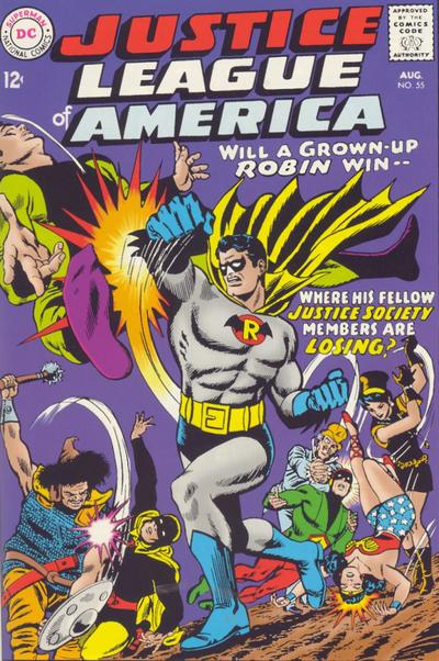 Justice Society Robin