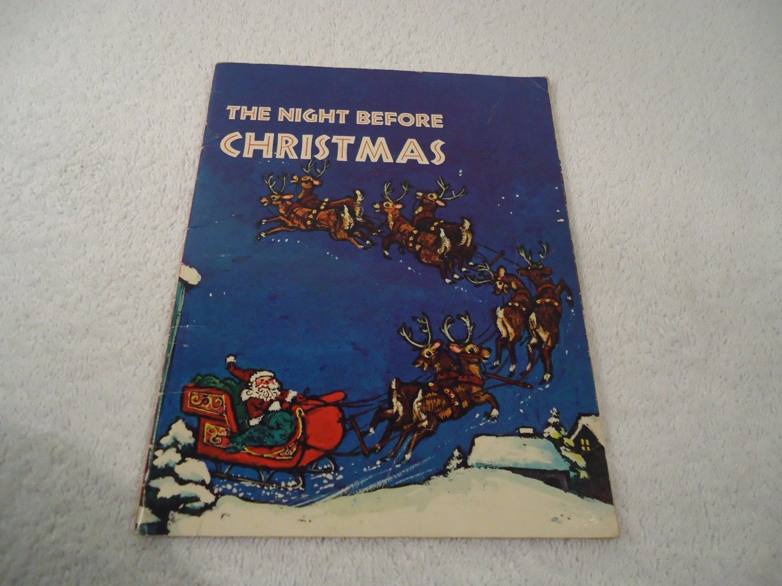 Christmas record and book