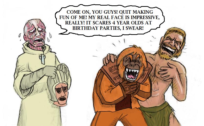 Apes cartoon