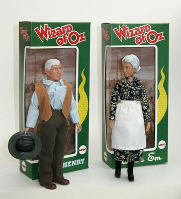 wizard of oz uncle henry and auntie em the mego museum user gallery