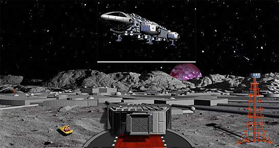 Space 1999 playset