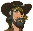 WANTED: Long John Silver's Mask Premium Giveaway- BART BLUEBEARD