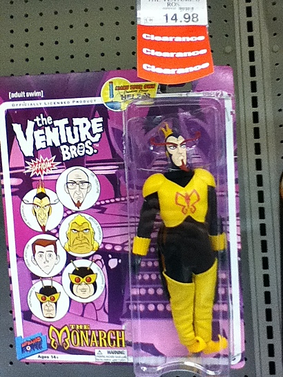 Venture Bros Toys R Us Clearance