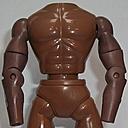 Brown Swivel Bicep Buff Body