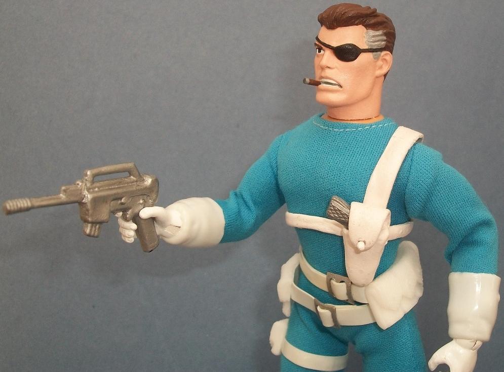 Custom Mego Nick Fury 3