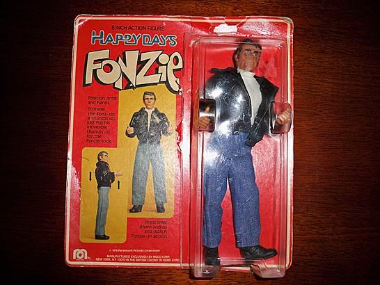 Fonzie Mego Action Figure