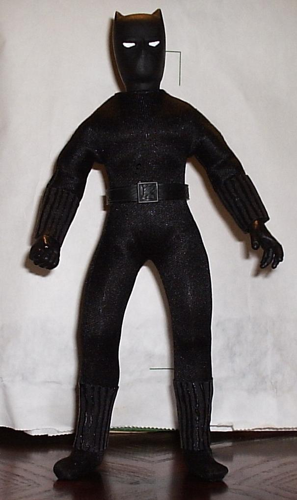 custom mego black panther
