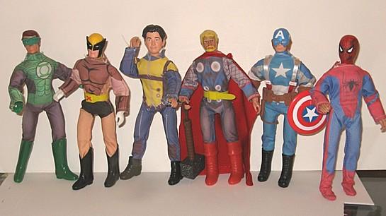 Printed Super-Hero suits