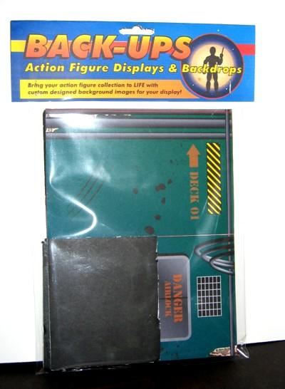 Back-Ups-Action figure displays