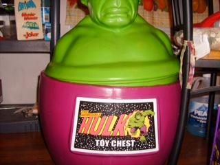 Hulk Toy Chest Restoration - Label Artwork