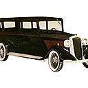 Sid's vintage car