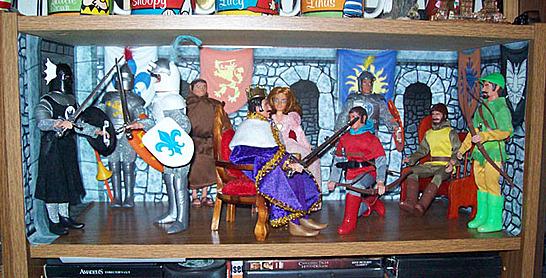 Knights display