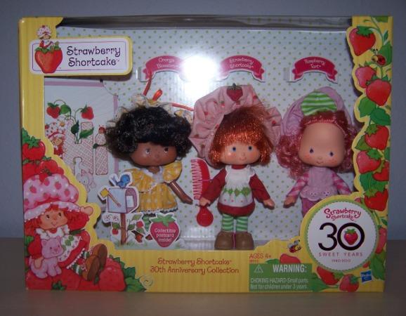 Strawberry Shortcake 30th Anniversary Collection Mini Review