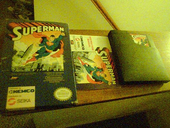 nes superman