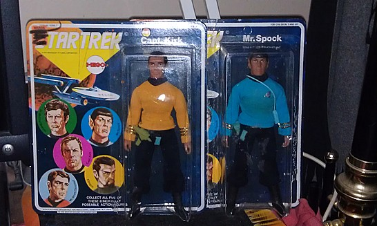 My carded Kirk/Spock
