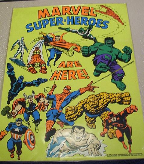 Marvel promo poster