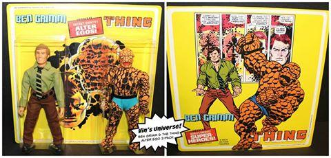 Vin's Universe Ben & Thing 2 Pack