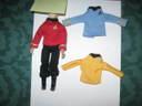 Star Trek Crew Shirts