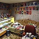 differnt view of the mego man cave