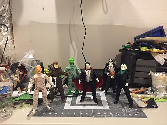 Remco Monsters in Mego Form