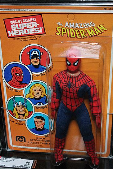 Mego Spiderman AFA90