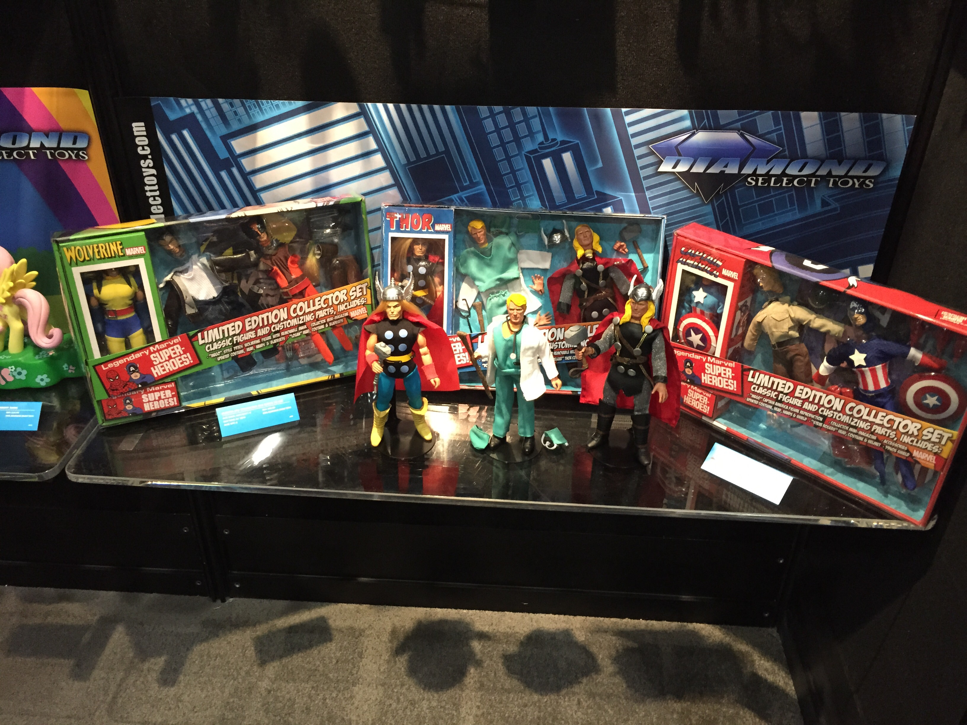 New Marvel figures