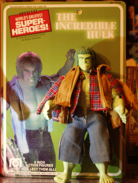 Custom LOU FERRIGNO as THE INCREDIBLE HULK