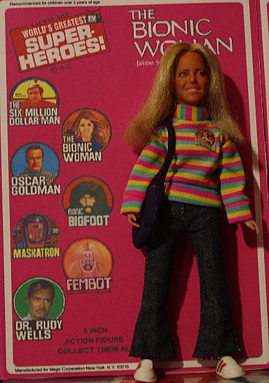 Custom LINDSAY WAGNER as THE BIONIC WOMAN