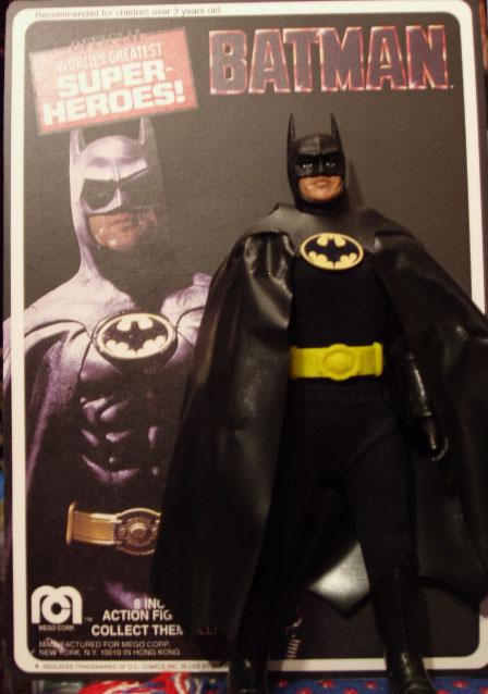 Custom MICHAEL KEATON as BATMAN