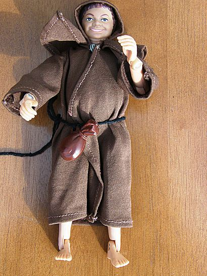 1973 Monk Figure