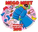 Mego Meet Logo 2011 aw yeah!