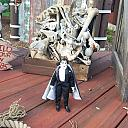 Mego Dracula vists Seaworld TX Halloween